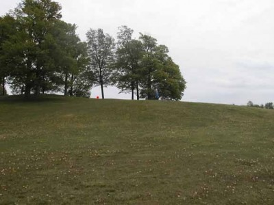 Cass Benton Hills, Main course, Hole 16 Long tee pad