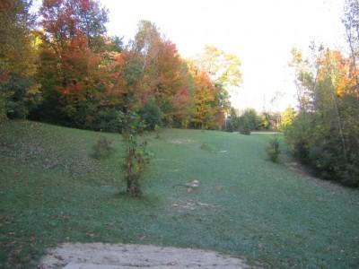 Cass Benton Hills, Main course, Hole 5 Short tee pad