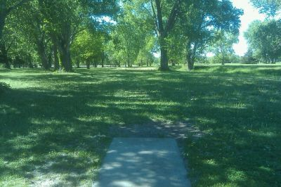 Tuttle Creek State Park - River Pond, Main course, Hole 3