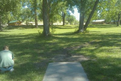 Tuttle Creek State Park - River Pond, Main course, Hole 15