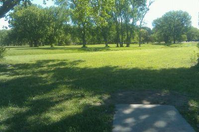 Tuttle Creek State Park - River Pond, Main course, Hole 17