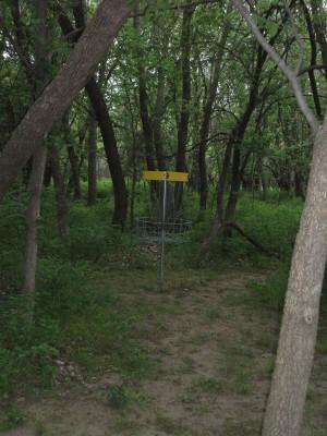 Tootleville Park, Main course, Hole 9 Putt