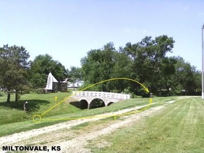 Tootleville Park, Main course, Hole 1 Midrange approach