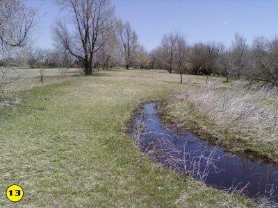 Camp Hawk, Main course, Hole 13 Midrange approach