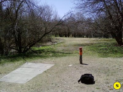 Camp Hawk, Main course, Hole 5 Tee pad