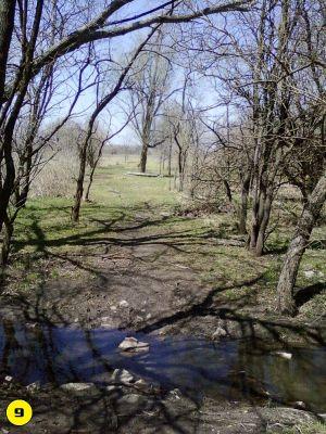 Camp Hawk, Main course, Hole 9 Midrange approach