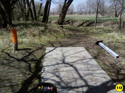 Camp Hawk, Main course, Hole 10 Tee pad