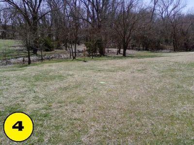 Camp Hawk, Main course, Hole 4 Midrange approach