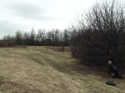 Seymour Lake Park, Main course, Hole 6 Short approach