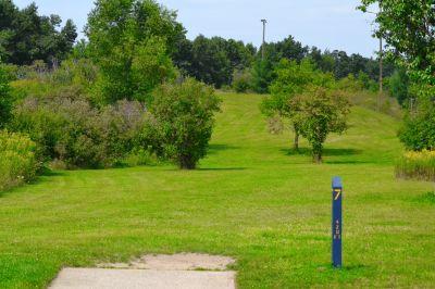 Seymour Lake Park, Main course, Hole 7 Tee pad