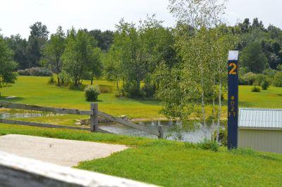 Seymour Lake Park, Main course, Hole 2 Tee pad