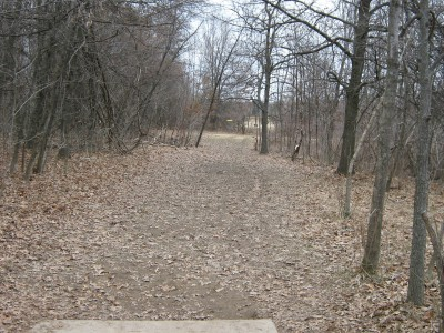 Seymour Lake Park, Main course, Hole 16 Tee pad