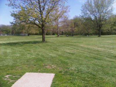 Crestview Park, Main course, Hole 15 Tee pad