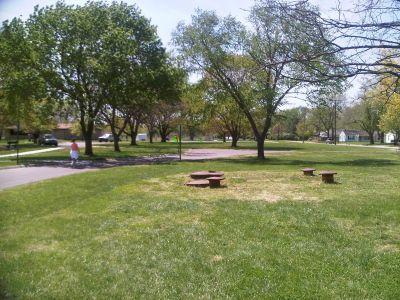 Crestview Park, Main course, Hole 18 Tee pad