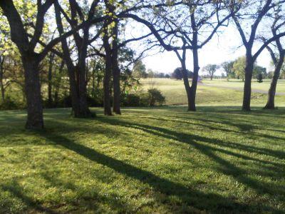 Lake Shawnee, Main course, Hole 1 Tee pad