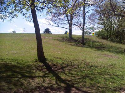 Lake Shawnee, Main course, Hole 16 Tee pad