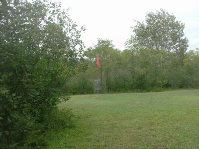 River Road Sports Complex, Main course, Hole 21 Short approach