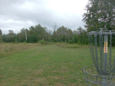 River Road Sports Complex, Main course, Hole 3 Reverse (back up the fairway)