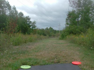 River Road Sports Complex, Main course, Hole 9 Tee pad