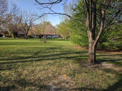 Pennyland Park, Main course, Hole 4 Tee pad