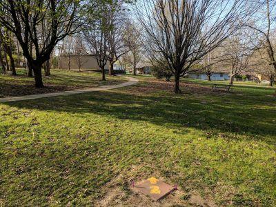 Pennyland Park, Main course, Hole 2 Tee pad