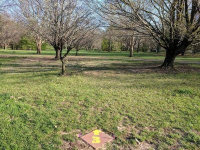 Pennyland Park, Main course, Hole 3 Tee pad