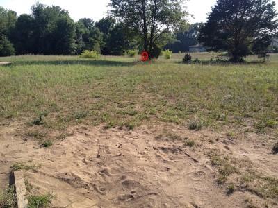 Calvary Disc Golf Course, Main course, Hole 4 Tee pad