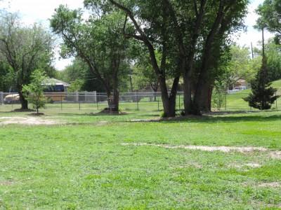 Thompson Park, Main course, Hole 2 Tee pad