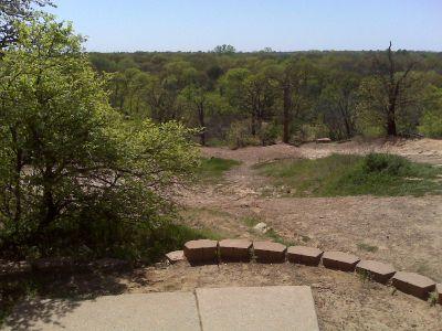 Veteran's Park, Main course, Hole 5 Tee pad
