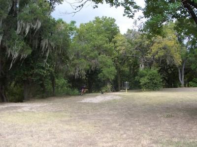 Pease Park, Main course, Hole 17 Putt