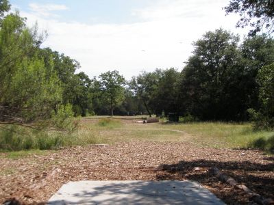 Slaughter Creek Metro Park (Circle C), Main course, Hole 5 Long tee pad