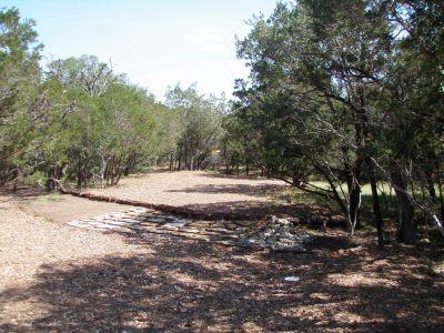 Slaughter Creek Metro Park (Circle C), Main course, Hole 2 Short approach