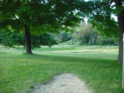 Lola Valley, Main course, Hole 7 Tee pad