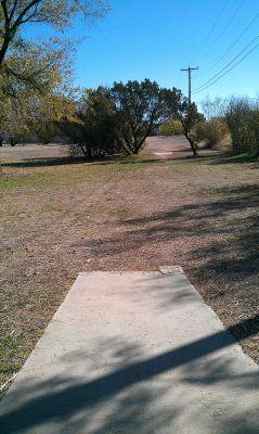 Birdwell Park, Main course, Hole 4 Tee pad