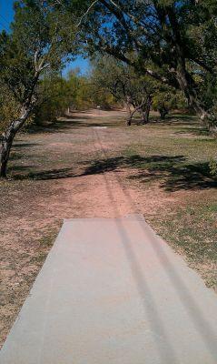 Birdwell Park, Main course, Hole 5 Tee pad