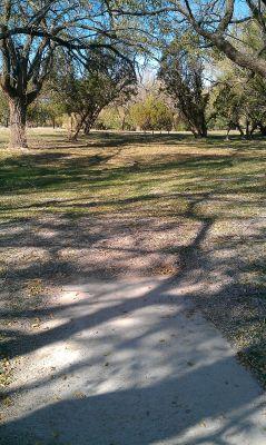 Birdwell Park, Main course, Hole 6 Tee pad