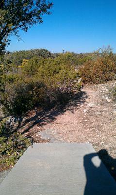 Comanche Trail Park, Main course, Hole 8 Tee pad