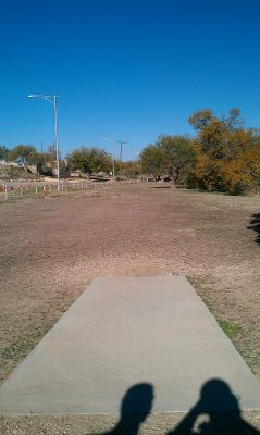 Comanche Trail Park, Main course, Hole 7 Tee pad