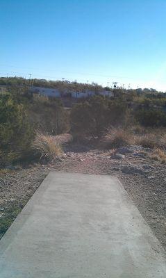 Comanche Trail Park, Main course, Hole 3 Tee pad