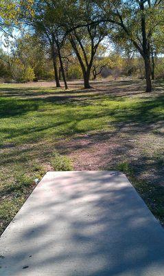 Comanche Trail Park, Main course, Hole 15 Tee pad