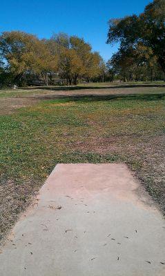Comanche Trail Park, Main course, Hole 14 Short tee pad