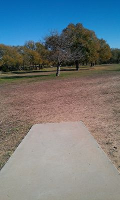 Comanche Trail Park, Main course, Hole 14 Long tee pad