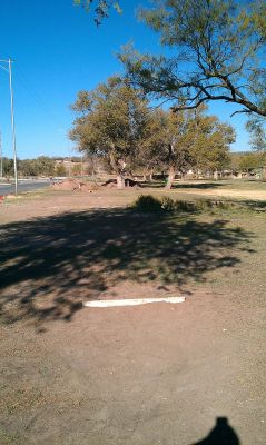 Comanche Trail Park, Main course, Hole 10 Tee pad