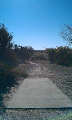 Comanche Trail Park, Main course, Hole 13 Tee pad