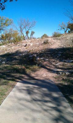 Comanche Trail Park, Main course, Hole 9 Tee pad