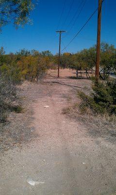 Comanche Trail Park, Main course, Hole 19 Tee pad