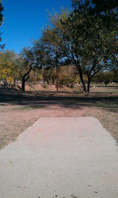 Comanche Trail Park, Main course, Hole 11 Tee pad
