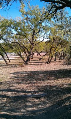 Comanche Trail Park, Main course, Hole 20 Tee pad