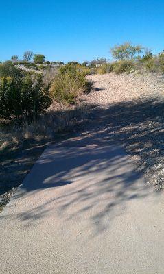 Comanche Trail Park, Main course, Hole 5 Tee pad