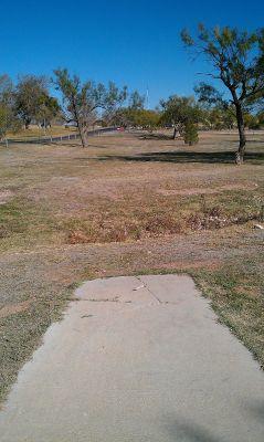 Comanche Trail Park, Main course, Hole 12 Tee pad